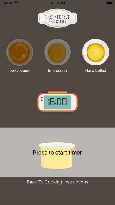 Egg Boiling Timer - 3 ways screenshot three