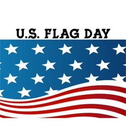 U.S. Flag Day Stickers