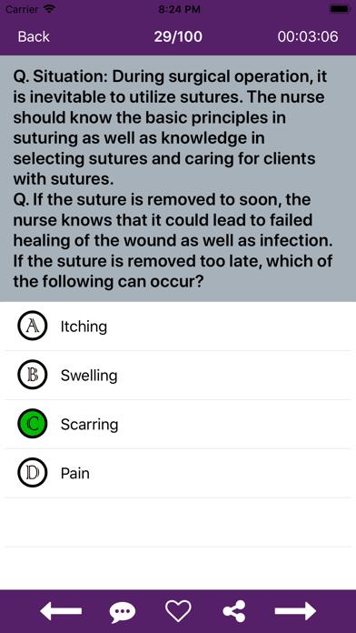 Nursing Quiz 10000+ QuestionsScreenshot of 6