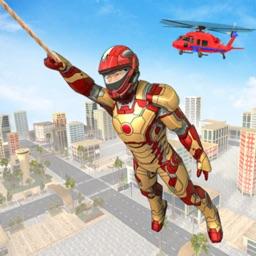 Miami Rope Hero Crime City
