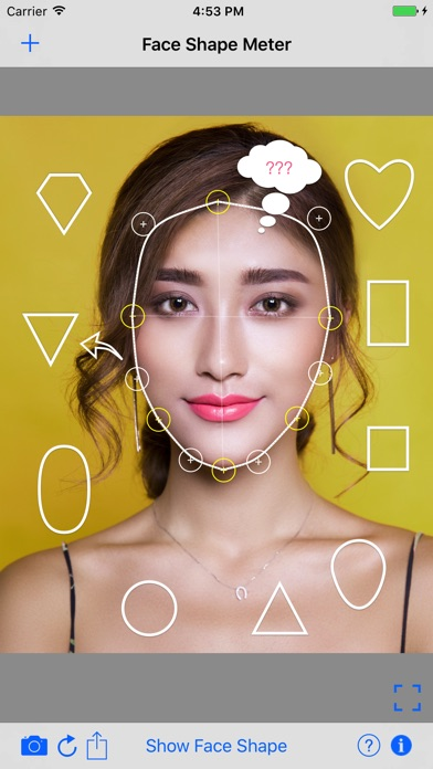 Face Shape Meter | men & women Screenshots