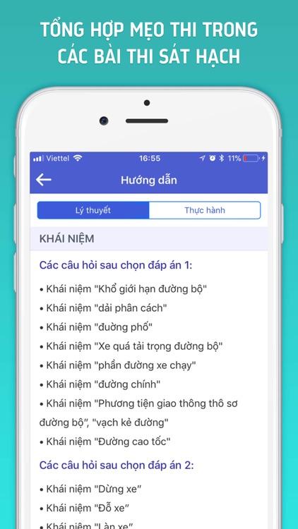 Ôn Thi GPLX A1 & B2 screenshot-4
