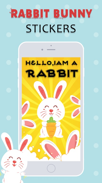 Rabbit Stickers Emojis