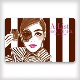 Henri Bendel A-List Card App
