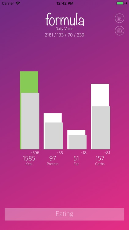 Formula: Calorie Calculator screenshot-7