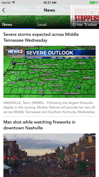 WKRN – Nashville's News 2 screenshot-1