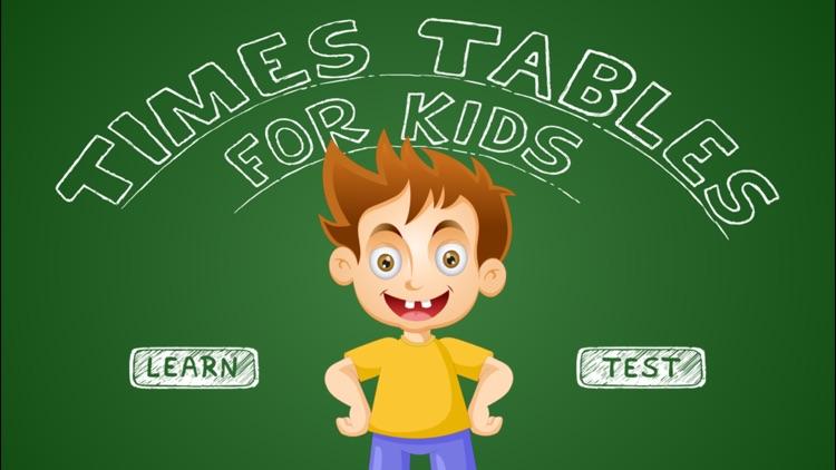 Times Tables For Kids - Full screenshot-4
