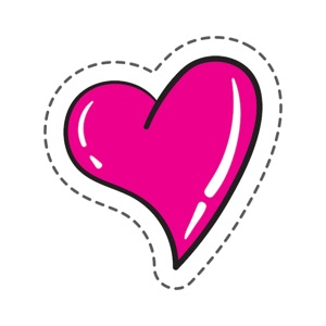 Love Heart Stickers Pro