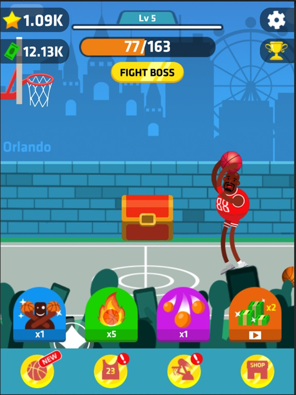 Idle Dunk Masters Скриншоты9