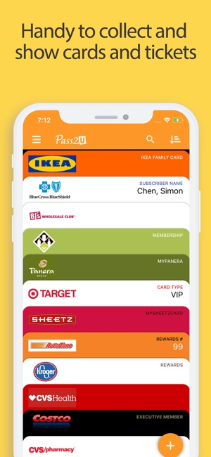 Pass2u Wallet Cardscoupons On The App Store