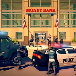 Bank Heist: Robbery OF Money