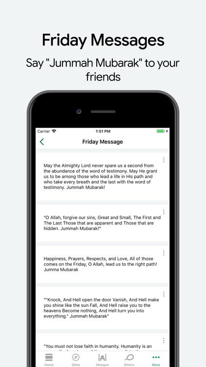 Muslim: Prayer Times, Qibla screenshot-6