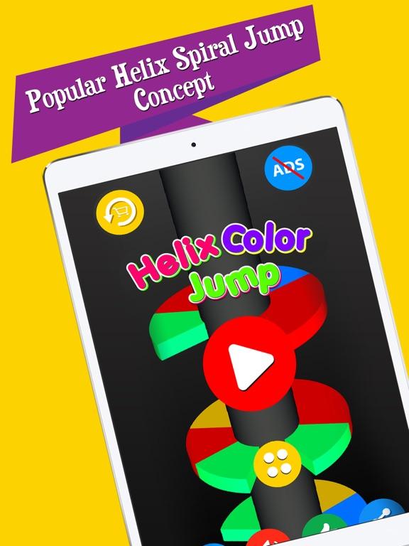 Helix Color Jump screenshot 5