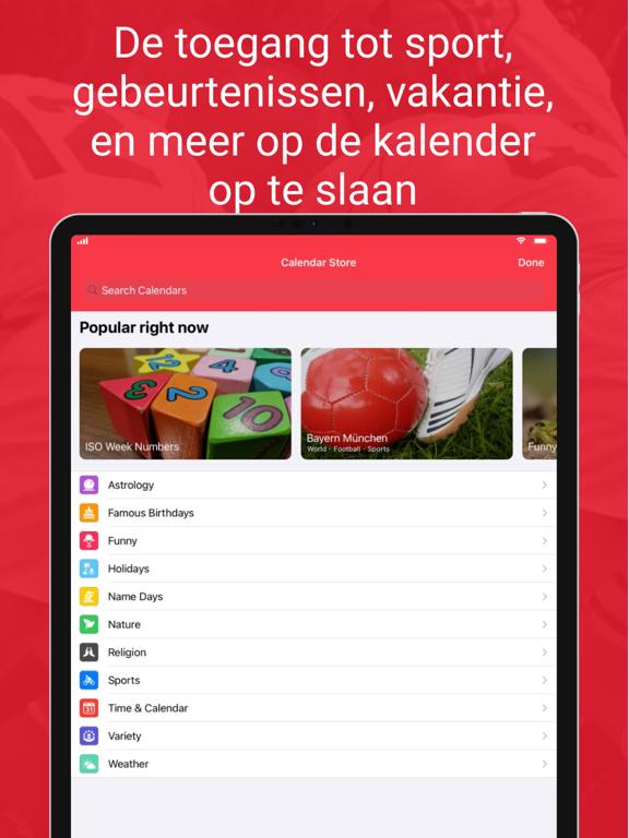 WeekCalendar - Cloud Kalender iPad app afbeelding 6