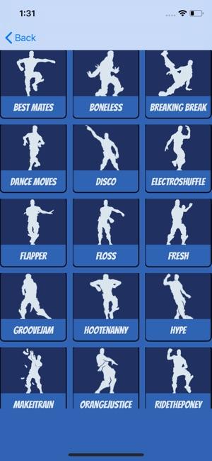 Dances Challenge For Fortnite On The App Store