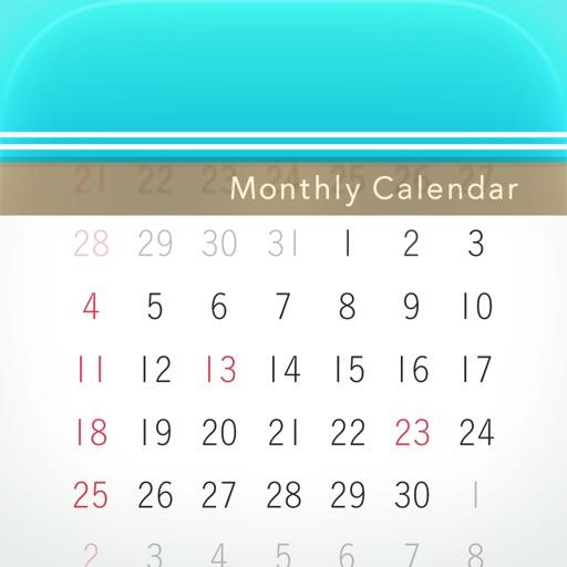Monthly Calendar Moca