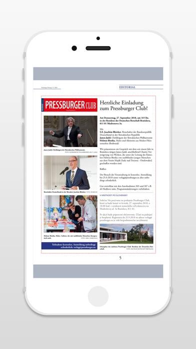 PRESSBURGER ZeitungScreenshot von 5