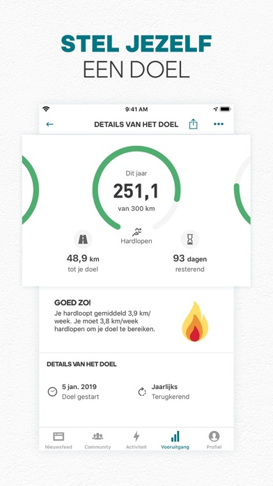 adidas Running by Runtastic iPhone app afbeelding 2