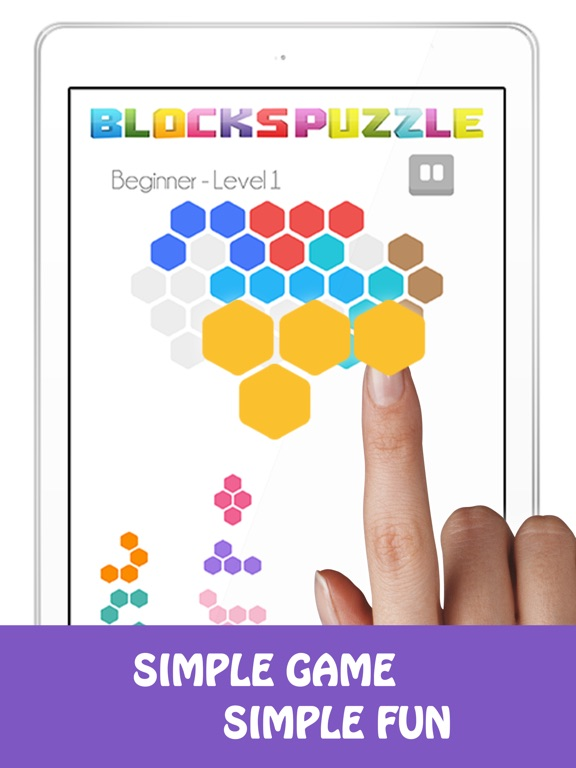 Fit Hexa Block Hexagon Puzzle screenshot 4