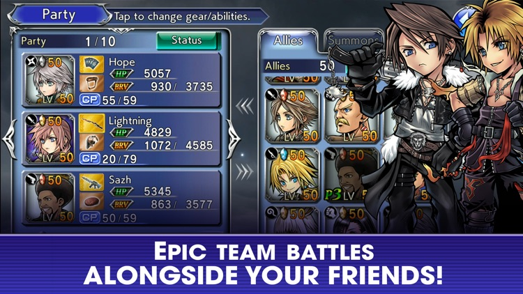 DISSIDIA FINAL FANTASY OO screenshot-4