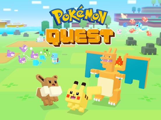 Pokémon Quest iPad app afbeelding 1