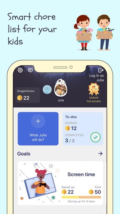 Dragon Family – Chore Tracker screenshot-3