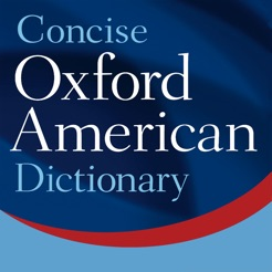 Oxford concise american dict on the app store oxford concise american dict 4 english language reference spiritdancerdesigns Image collections
