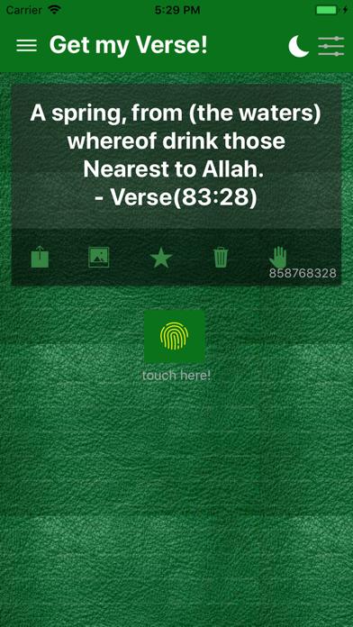 Quran Quotes - Islamic Verses screenshot 4