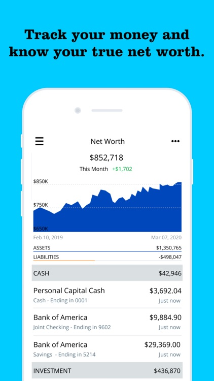 Personal Capital: Investing