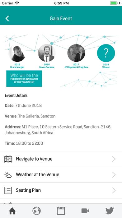 Innovation Awards screenshot one