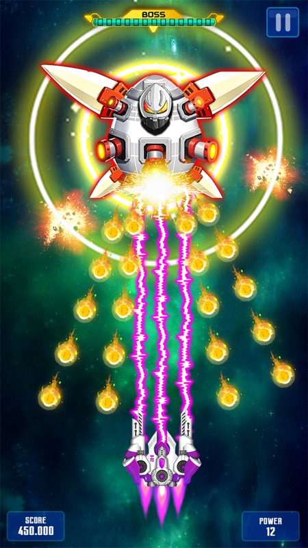 Galaxy Attack: Space Shooter - Online Game Hack and Cheat