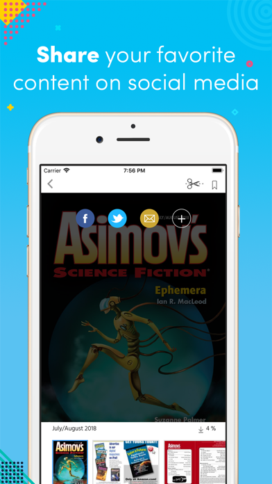 Asimovs Science Fiction review screenshots