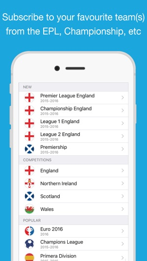 Calendario National League.Fixtures For Iphone Calendar On The App Store