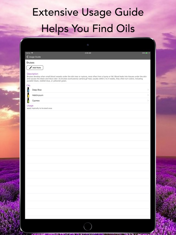 Essential Oils Complete Guide Screenshots