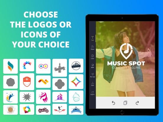 Logo Maker Creator Font Design-ipad-1