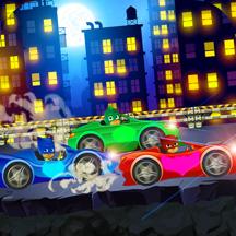 Pj Car Hero: Masks Battle Race