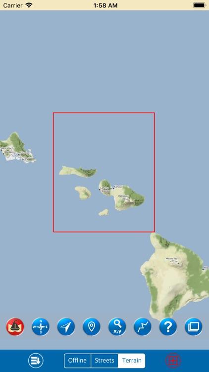 Maui – Marine GPS Map screenshot-4