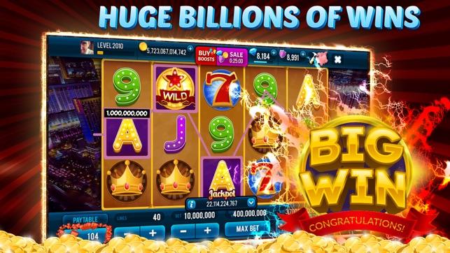 VIP Slots Club Casino Screenshot