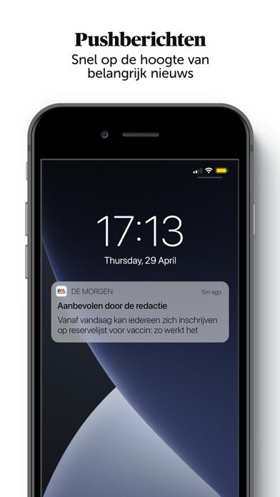 De Morgen - Nieuwsのおすすめ画像1
