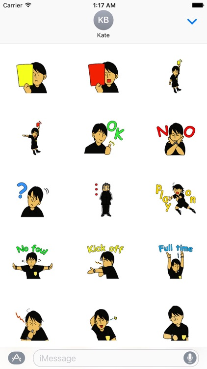 Soccer Referee Stickers