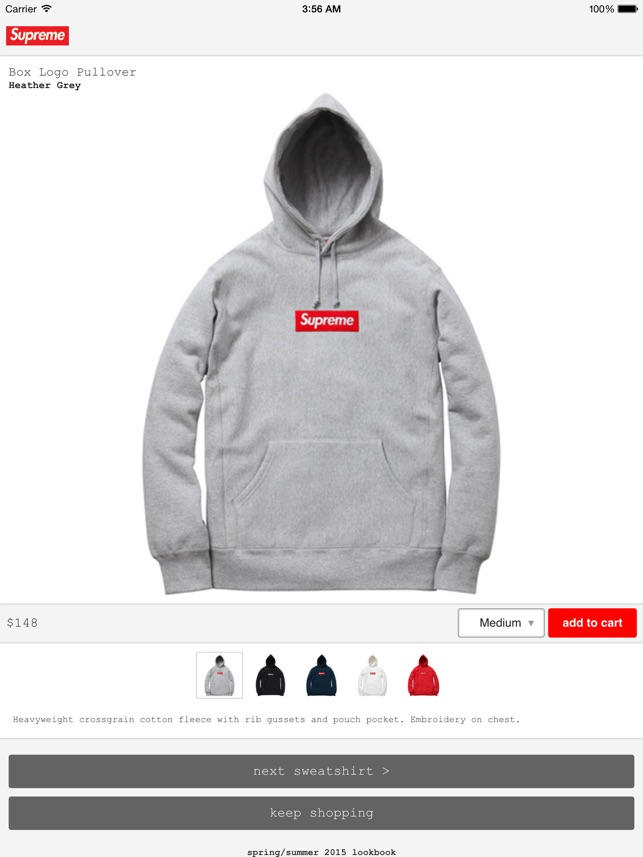 525f59c4319b Supreme on the App Store