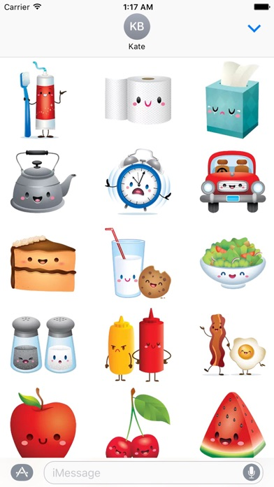 Cute Icons IconMoji Sticker screenshot 1