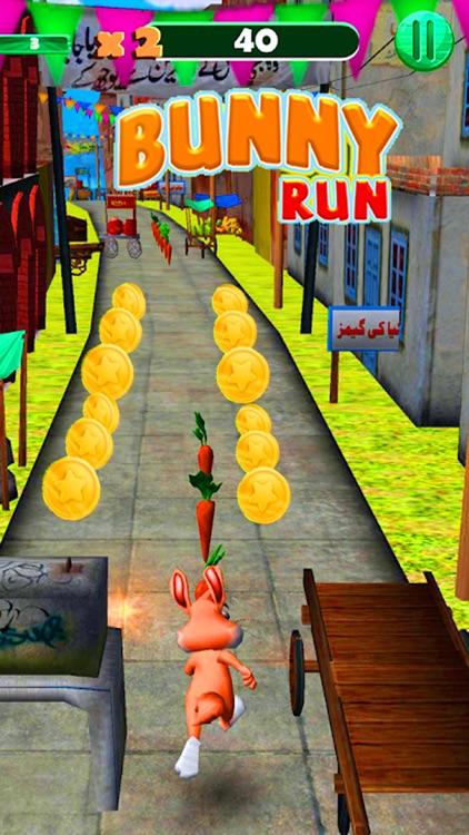 Bunny Dash Rush Runner 3D