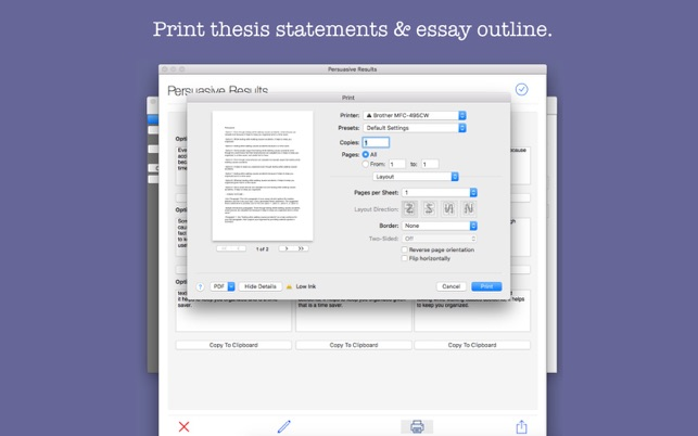 thesis application mac Check application status  these templates should be used as a guide in formatting your thesis or dissertation with the understanding that your department may.