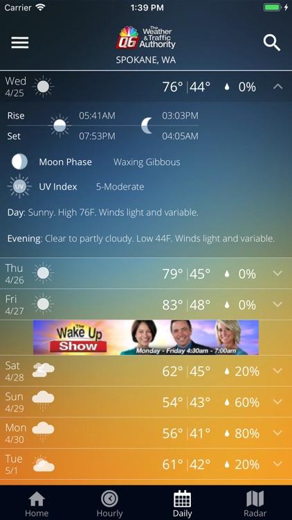 KHQ Weather Authority screenshot-4