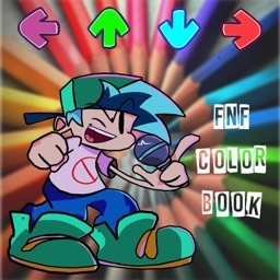FNF MUSIC ARROW COLORING GAME