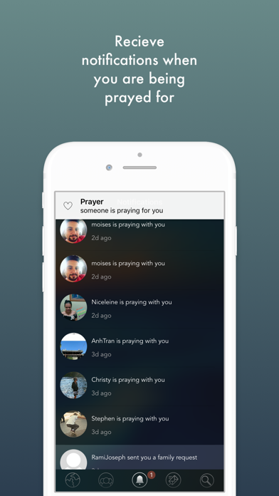 uberPray - your prayer app screenshot four