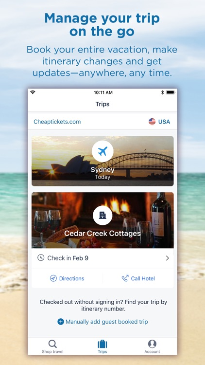 CheapTickets Hotels & Flights screenshot-4
