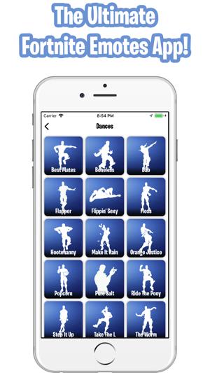 Emotes For Fortnite Dances Im App Store
