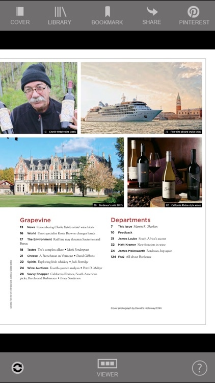 Wine Spectator Magazine screenshot-1